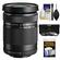 Olympus M.Zuiko 40-150mm f/4.0-5.6 R Micro ED Digital Zoom Lens (Black) with 3 UV/CPL/ND8 Filters + Accessory Kit