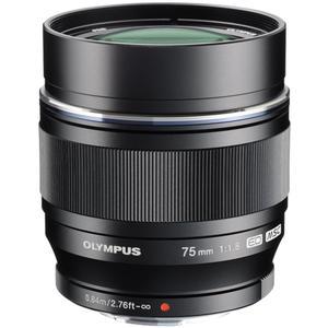 Olympus M.Zuiko 75mm f/1.8 ED MSC Digital Lens (Black)
