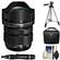 Olympus M.Zuiko 7-14mm f/2.8 PRO ED Digital Zoom Lens (Black) with Tripod + Case + Cleaning Kit
