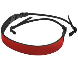 Op-Tech USA Fashion Neoprene Camera Strap 3-8 inch - Red -