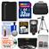 Essentials Bundle for Panasonic Lumix DMC-FZ300 Digital Camera with 32GB Card + Case + LED Flash + DMW-BLC12 Battery + Tripod + 3 UV/CPL/ND8 Filters