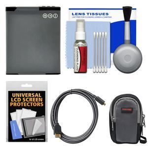 Essentials Bundle for Panasonic Lumix DMC-ZS35 ZS40 ZS45 ZS50 Digital Cameras with Case and DMW-BCM13 Battery and HDMI Cable and Kit