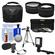 Essentials Bundle for Panasonic HC-W870K, WXF991K, V770K, VX981K, X920 Camcorder with Case + LED Light + Microphone + Tripod + 3 UV/CPL/ND8 Filters + Tele/Wide Lenses Kit