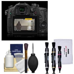 Panasonic V-LOG L Firmware Upgrade Software Key Code for GH4  GH5 & FZ2500 Camera with 3 Lens Pens + Cleaning Kit