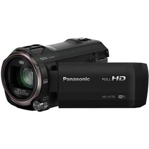 Panasonic HC-V770 Wireless Smartphone Twin Recording Wi-Fi HD Video Camera Camcorder Twin Features: Picture-in Picture Full-motion Recording–Cameta Camera-Cash Back