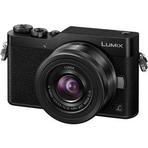 Panasonic Lumix DC-GX850 4K Wi-Fi Digital Camera & 12-32mm Lens (Black)