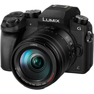 Panasonic Lumix DMC-G7 4K Wi-Fi Digital Camera and 14-140mm Lens