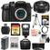 Panasonic Lumix DMC-GH4 4K Micro Four Thirds Digital Camera Body with 20mm f/1.7 II Lens + 64GB Card + Battery + Case + Tripod + Flash + Filters Kit