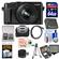 Panasonic Lumix DMC-LX100 4K Wi-Fi Digital Camera (Black) with 64GB Card + Case + Video Light & Flash Set + Battery + Tripod + Kit