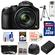 Panasonic Lumix DMC-FZ70 Digital Camera (Black) with 32GB Card + Battery + Case + 3 UV/ND8/CPL Filters + Tripod + Accessory Kit
