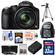 Panasonic Lumix DMC-FZ70 Digital Camera (Black) with 32GB Card + Battery + Backpack + 3 UV/ND8/CPL Filters + Tripod + Accessory Kit