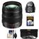 Panasonic Lumix G X Vario 12-35mm f/2.8 OIS Lens for G Series Cameras (Black) with 3 (UV/CPL/ND8) Filters + Backpack Case + Accessory Kit