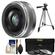 Panasonic Lumix G Vario 20mm f/1.7 II ASPH Lens for G Series Cameras (Silver) with 3 UV/ND8/CPL Filters + Tripod + Accessory Kit