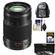 Panasonic Lumix G X Vario 35-100mm f/2.8 OIS Lens for G Series Cameras (Black) with 3 (UV/CPL/ND8) Filters + Backpack Case + Accessory Kit