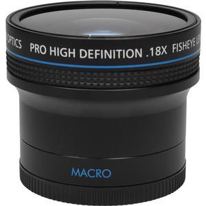 PHD Optics .18x HD Ultra Fisheye Lens - 58mm -