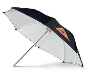 Photoflex UM-ADW30 30 inch Adjustable White Umbrella with Movable Ribs