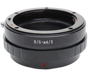 Phottix Adapter Ring. Nikon AI Lens - G series - to Olympus and Panasonic Micro 4-3 Camera