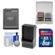 Power2000 ACD-294 Rechargeable Battery for Nikon EN-EL12 with 8GB Card + Charger + Accessory Kit