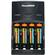 Power2000 XP350-(4) AAA NiMH Rechargeable Batteries & 110/220V Rapid Charger