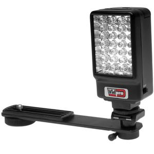 Power2000 Deluxe LED Digital Video Camcorder Light with Bracket