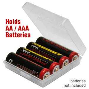 Precision Design AA - AAA Battery Case - Holds 4 AA or AAA