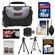 Precision Design PD-C15 Digital Camera/Camcorder Case with 16GB Card + Tripod + Cleaning & Accessory Kit