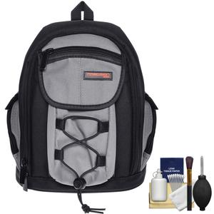 Precision Design PD-MBP ILC Digital Camera Mini Sling Backpack with Cleaning Kit for Pentax K-01 Q & Q10 Digital Cameras