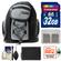 Precision Design PD-MBP ILC Digital Camera Mini Sling Backpack with 32GB Card + NP-FW50 Battery + Accessory Kit