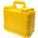 Precision Design PD-WPC Waterproof Hard Case with Custom Foam - Large (Yellow) for Digital SLR Cameras, Camcorders, etc.