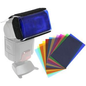 Precision Design 12 Color Gel Flash Filter Set