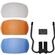 Universal 3 Color Diffuser Filter Set for Pop-Up DSLR Camera Flashes