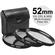 Precision Design 3-Piece Multi-Coated HD Pro Filter Kit (52mm UV/CPL/ND8)