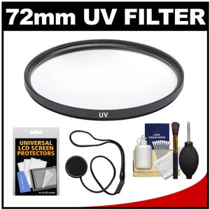 Review Precision Design 72mm UV Glass Filter with DSLR Camera & Lens Cleaning Kit Before Too Late