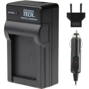 Premium Tech PT-58 Mini Battery Charger for Panasonic VW-VBT190 - VW-VBT380