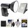 Quantum Qflash Trio Model QF8N Flash (for Nikon) with Softbox + Accessory Kit