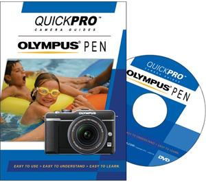 QuickPro Camera Guides for Olympus PEN Digital Cameras Instructional DVD