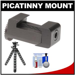 Replay XD Picatinny Rail Clamp with Flex Tripod and Accessory Kit