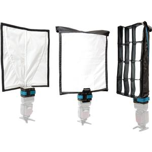 Rogue FlashBender 2 XL Pro Lighting System with Reflector Strip Grid and Soft Box Diffuser and Case