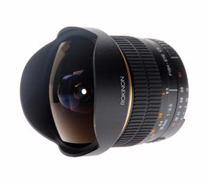 Rokinon 8mm f/3.5 Aspherical Fisheye Manual Focus Lens (for Pentax/Samsung Cameras)