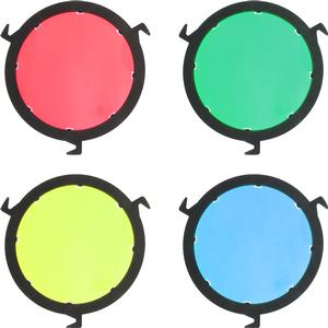 RPS Studio Color Filter Kit for RS-5410 CooLED 20 Light Red Yellow Green and Blue