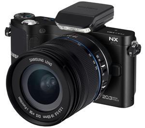 Samsung NX210 Smart Wi-Fi Digital Camera Body and 18-55mm Lens (Black)