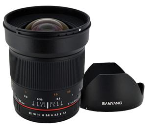 Samyang 24mm f/1.4 ED IF AS UMC Manual Focus Wide Angle Lens (for Sony Alpha Cameras) at Sears.com
