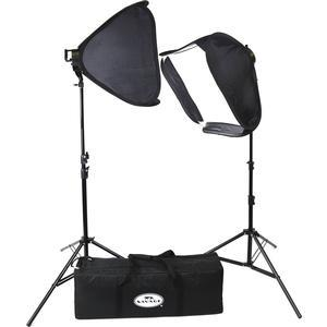 Savage LED-SB Portrait LED Studio Light Kit with 2 Lights 2 Stands 2 Softboxes and Case