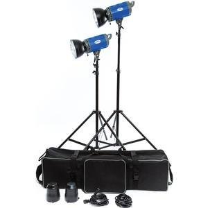 Savage LED2000K 2000 Watt LED 2 Studio Light Kit with 2 Lights 2 Stands 2 Reflectors and Case