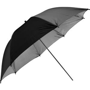 Savage PUR-36SB 36 inch Photo Studio Umbrella - Black - Silver -