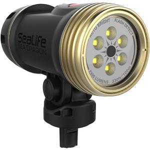 SeaLife SL6740 Sea Dragon 2300 UW Photo - Video LED Dive Light - Head Only -