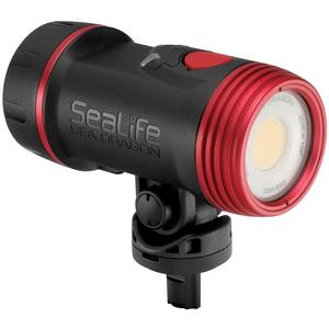 SeaLife SL6712 Sea Dragon 2500 UW Photo-Video Light Head includes Light Head Battery and Charger