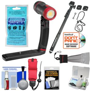 SeaLife SL671 Sea Dragon 2500 UW Photo-Video Dive Light Kit with Aquapod + Silica Gel + Floating Strap + Accessory Kit