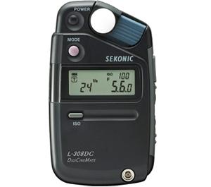 Sekonic L-308DC DigiCineMate Light Meter