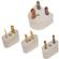 Seven Star Polarized International Electricity Travel Adapter Plug Set